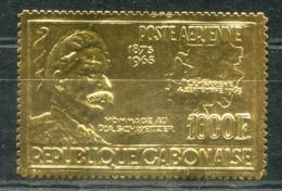 5045 - GABUN - Mi.Nr. 233 ** - GOLD-MARKE ALBERT SCHWEITZER / GOLDEN STAMP - Mnh - Gabun (1960-...)