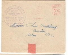 22510 - ACHAT REPARTITION DES VIANDES - Marcophilie (Lettres)
