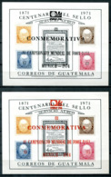 5047 - GUATEMALA - Block 15 A+b ** - FUSSBALL / FOOTBALL - Mnh Mini Sheets - Guatemala