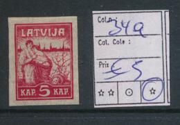 LATVIA YVERT 34a LH - Lettonie