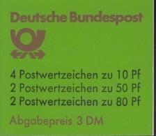 BRD  MARKENHEFTCHEN  MH 24 I K1 OZ, Postfrisch, Burgen Und Schlösser 1985 - [7] République Fédérale
