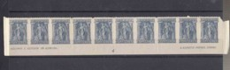 Greece 1913 (1918) Mi#195 Mint Never Hinged Strip Of 10 With Margins - Full Bottom Row From Sheet - Greece
