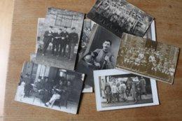 10  Photos Militaires   Divers 1914  1918  Et 1940 Lot 3 - Guerra, Militares