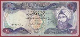 Iraq 10 Dinars 1981  Dans L 'état  (163) - Iraq