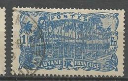 GUYANE N° 87 OBL - Guyane Française (1886-1949)