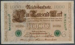 P45b Ro 46b DEU-69b  7 Chifres N°5382305D *** AUNC *** Lettre  G  1000 Mark 1910 - [ 2] 1871-1918 : German Empire