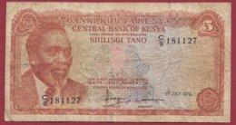 Kenya  10 Shillings  Du 01/07/1978  Dans L 'état  (167) - Kenia