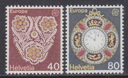 Europa Cept 1976  Switzerland 2v ** Mnh (44858F) - Europa-CEPT