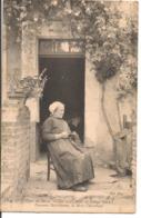 L80b016 -  TYpe Du Berry - Les Vieux Amis De George Sand - La Mère Chamblant - GG N°125 - Personnages