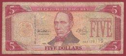 Liberia 5 Dollars 1999  Dans L 'état  (170) - Liberia