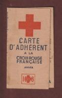 Carte  ADHERENT A LA CROIX ROUGE FRANCAISE - Année 1948 - Bureau De PLAINFAING . Vosges - 4 Scannes - Documents