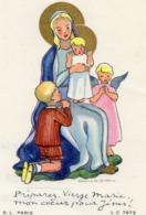 Image Pieuse Communion Eglise Saint Roch / 8 Juin 1958 /  CHARBON Francois / B L Paris - Santini