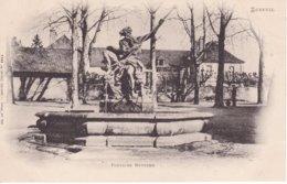 L100E_106 - Luxeuil - Fontaine Neptune - Carte Précurseur - Luxeuil Les Bains