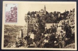 CM349 Carte Maximum 763 Rocamadour Non Oblitéré - Maximum Cards