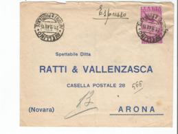 Busta Affrancata 1948 Espresso Italia - Collezioni (senza Album)