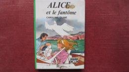 ALICE ET LE FANTOME. Année 1978 - Books, Magazines, Comics