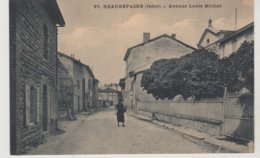 Isère BEAUREPAIRE Avenue Louis Michel - Beaurepaire