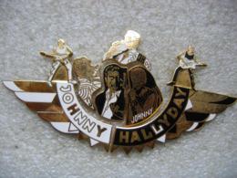 Pin's Puzzle De 6 Pieces Du Chanteur Johnny Hallyday - Celebrities