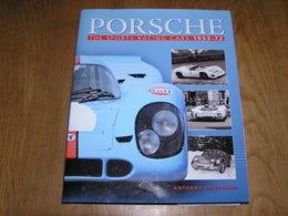 PORSCHE The Sports Racing Cars 1953 - 72 Course Le Mans 917 Porsche Formula  550 Spyder 906 Carrera 907 Monza - Sports