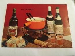 THEME RECETTE LA FONDUE - Recipes (cooking)