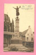 C.P. Tienen =  Standbeeld Der  Gevallene  Soldaten  1914-1918 - Tienen