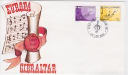 Gibraltar 1985 FDC Europa CEPT (G76-141) - Europa-CEPT