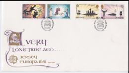 Jersey 1981 FDC Europa CEPT (NB**A29) - Europa-CEPT