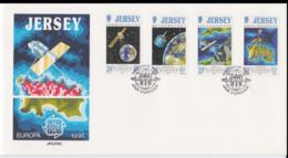 Jersey 1991 FDC Europa CEPT (NB**A29) - 1991