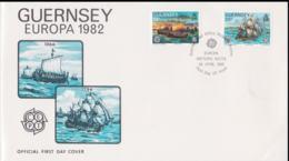 Guernsey 1982 FDC Europa CEPT (NB**A29) - Europa-CEPT