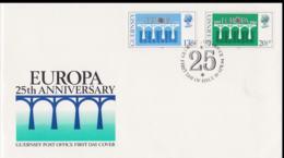 Guernsey 1984 FDC Europa CEPT (NB**A29) - Europa-CEPT