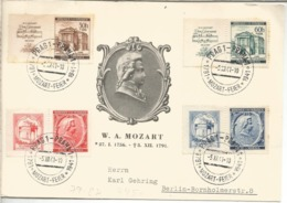 BOHEMIA Y MORAVIA 1941 PRAGA FESTIVAL MOZART MUSICA - Música