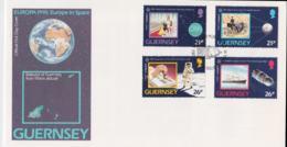 Guernsey 1991   FDC Europa CEPT (NB**A29) - 1991