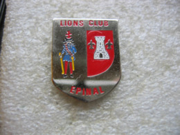 Pin's Du Lion's Club De La Ville D'Epinal - Vereinswesen
