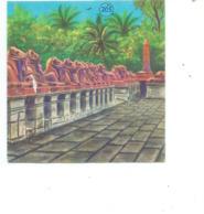 Chromo EGYPTE LOUXOR KARNAK 60 X 60 Mm Bien Pub: Chocolat CASINO  2 Scans - Chromos
