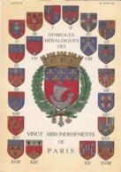SYMBOLES HERALDIQUES DES VINGT ARRONDISSEMENTS DE PARIS - Arrondissement: 20