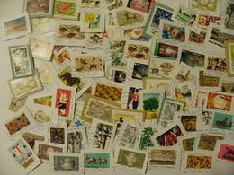 200 Timbres De France Oblitérés Avec Les Dernières Séries 2019 - Postzegels