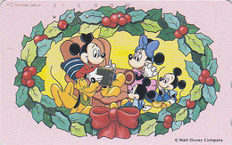 Télécarte Japon / 110-161715 - DISNEY - Série NOEL 8/25 - CHRISTMAS Series Santa Japan Phonecard - WEIHNACHTEN - Disney