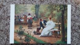 CPA SALON DE PARIS ED GELHAY TABLEAU EN 1830 PROJETS D AVENIR ED LAPINA - Schilderijen
