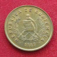 Guatemala 1 Centavo 1987 KM# 275.3 - Guatemala
