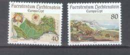 Lichtenstein 1977; Europa Cept, Michel 667-668.** (MNH) - Europa-CEPT