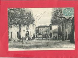 CPA - Landiras -  (Gironde) - Route De Podensac - France