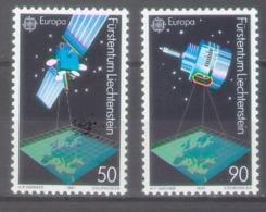 Lichtenstein 1991; Europa Cept, Michel 1011-1012.** (MNH) - 1991