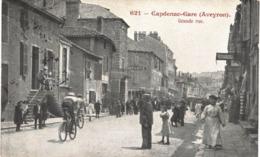 Carte  POSTALE  ANCIENNE De CAPDENAC - GARE / Grande Rue - Autres Communes