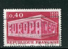 FRANCE- Y&T N°1598- Oblitéré - Europa-CEPT