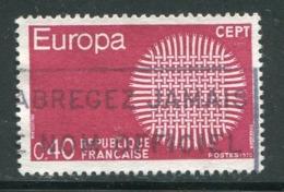 FRANCE- Y&T N°1637- Oblitéré - Europa-CEPT