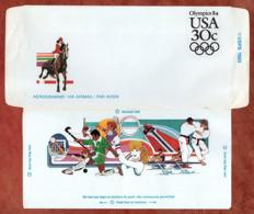 Aerogramme, Olympics 1984, Ungebraucht (80019) - Altri