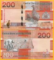 Gambia 200 Dalasis P-new 2019 UNC Banknotes - Gambia