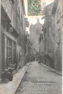 Carte  POSTALE  ANCIENNE De VILLEFRANCHE De ROUERGUE - Rue Durand De Monlauzeur - Villefranche De Rouergue
