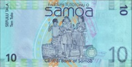 SAMOA 10 Tala P 39 A ND ( 2008 ) UNC - Samoa
