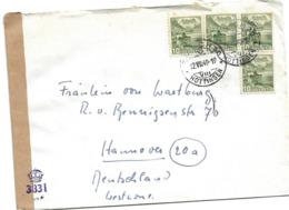 221 - 41 - Enveloppe Envoyée De Suisse à Hannover 1949 - Censure - Zona Anglo-Américan